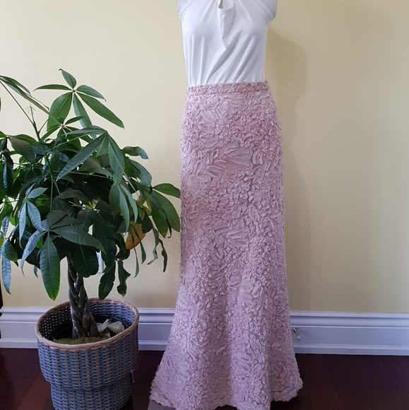 Vintage Dresses & Skirts - 🔥HP🔥Vintage Ross Mayer Sequin Maxi Mermaid Skirt